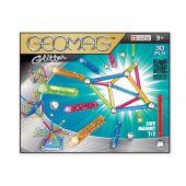 Geomag Color Glitter 30, Magnetkonstruktionsset