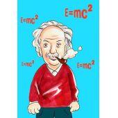 "Effekt-Postkarte Wackelbild ""E=mc2 Einstein"""