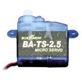 Servo S25, 2.5 Gramm Mikro-Servo S18JST - Einer der kleinsten Servos der Welt!