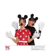Kinderkostüm - Mäuse - Setpreis - Ohren - Nase - Handschuhe