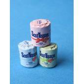 Mini Toilettenpapier Puppenhaus Badezimmer Miniatur 1:12