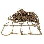 **Großes Sicherungs- Abdecknetz aus geflochtenem Tauwerk