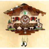 Original Schwarzwald- GEMSE- Kuckucksuhr mit Nachtabs - Cuckoo Clocks- Schwarzwald
