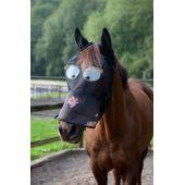 Fliegenmaske / Gesichtsmaske mit Motiv, Pony