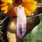 Amethyst-Kristall, Rohstein gebohrt (Vera Cruz)