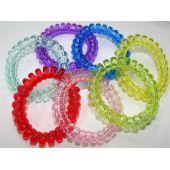 Kinderarmband Spiralband - bunte Farben