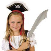 Haarreif mit Piratenmotiv - Kopfbügel - Kostümaccessoire