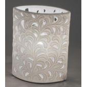 Lampe Oval Harmonie Romantik 17 X 21 cm