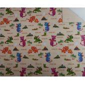 Motivkarton Kids Drachen 49,5 x 68 cm