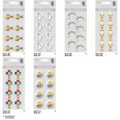 3 D Sticker  Regenbogen