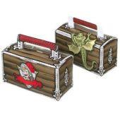 Geschenkbox Ritter Max, aus Pappe 4 Stück