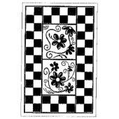 Stempel Mosaik Borde Schach 7 cm