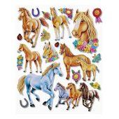 3 D Sticker Pferd XXL 30x30 cm