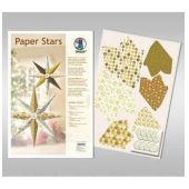 Paper Stars in gold Golden Charm