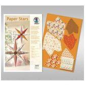 Paper Stars in braun Lounge