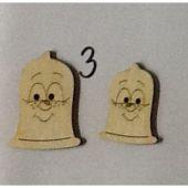 Holzknopf Kondomi Design 3