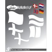 BY LENE DIES Grosse Flagge   BLD1081