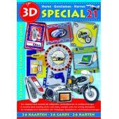 3D Buch Herrenkarten 26 St. Special 21