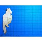 Holz Papagei ARA in verschiedenen Größen 30mm - 160mm