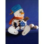 Schlenker-Schneemann aus Holz in verschiedenen Größen