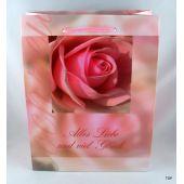 Geschenktüte Alles Liebe als Verpackung Maße:  23 x 18 x 8 cm