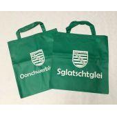 Tragetasche Sachsen Sglatschtglei /Oorschwerbleede 38x40cm Grün