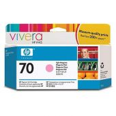 HP 70 Tinte light magenta 130 ml Vivera Designjet Z2100 3100