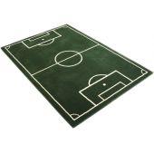 Teppich Fußballplatz Spielteppich Kinderteppich Fußballteppich Fussball Fußballfeld