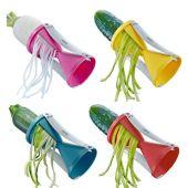 Spirelli versch. Farben Spiralschneider Julienne Gemüsespaghetti Gemüsestreifen Gemüse schneiden