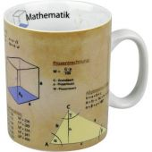 Becher Mathematik Tasse Porzellan Schule Formeln Naturwissenschaft Mathe