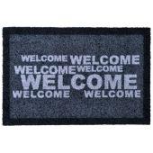 Fußmatte Welcome Bodenmatte Fußabstreifer Matte Eingangsmatte Saubermatte Schmutzfangmatte
