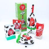 Popcornloop Tüte Haube Fußball-Set Popcorn Popcornmaschine Maker selber machen Zubereiten