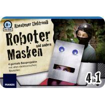 Franzis SmartKids Abenteuer Elektronik Robotermasken
