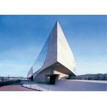 Effekt-Postkarte 3D: Phaeno Wolfsburg