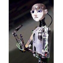 Postkarte mit 3D Effekt: Phaeno Wolfsburg Roboter