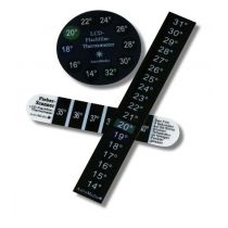 LCD Flachfilm-Thermometer Set mit 3 Stück