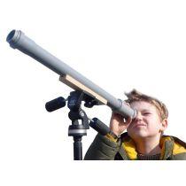 Das Baumarkt-Teleskop