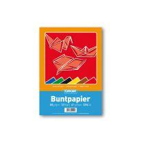 Buntpapierheft, A4, 12 Blatt