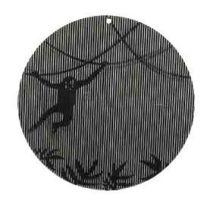 Moiré-Fensterhänger (Affe)