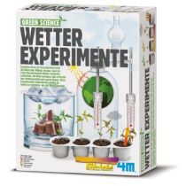 4M Green Science Wetter Experimente