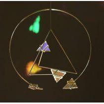 Kraul Spiegelmobile klein (rund dreieckig)