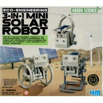 4M Eco Engineering - 3-in-1 Mini Solar Robot