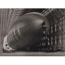 """Postkarte mit 3D Effekt: """"Zeppelin"""""""