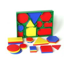 Geo-Set 60, mittelgroß - Geometrische Figuren