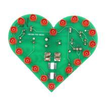 SOL-EXPERT Blinkendes Herz, Lötbausatz für USB (Powerbank oder Port)