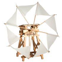 Kraul Segelwindmühle, das kleine Windkraftwerk Bausatz