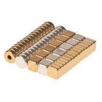Magnetset Neodym, 57 Teile, Mini