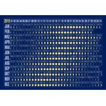 Astromedia Der Postkarten-Mondkalender 2019