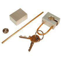 Metall - Schlüsselanhänger (Werkpackung)