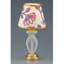 Tischlampe LED bunt  Puppenhaus Beleuchtung Miniaturen 1:12